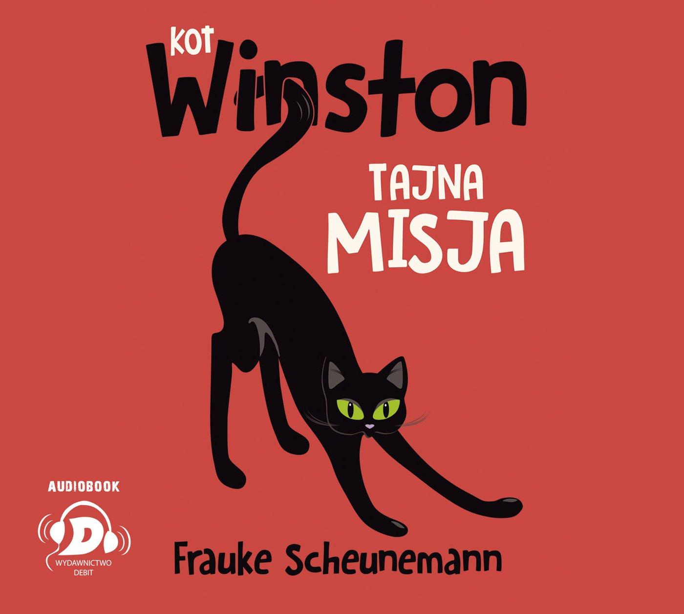 Kot Winston. Tajna misja - Audiobook (Książka audio MP3) do pobrania w całości w archiwum ZIP