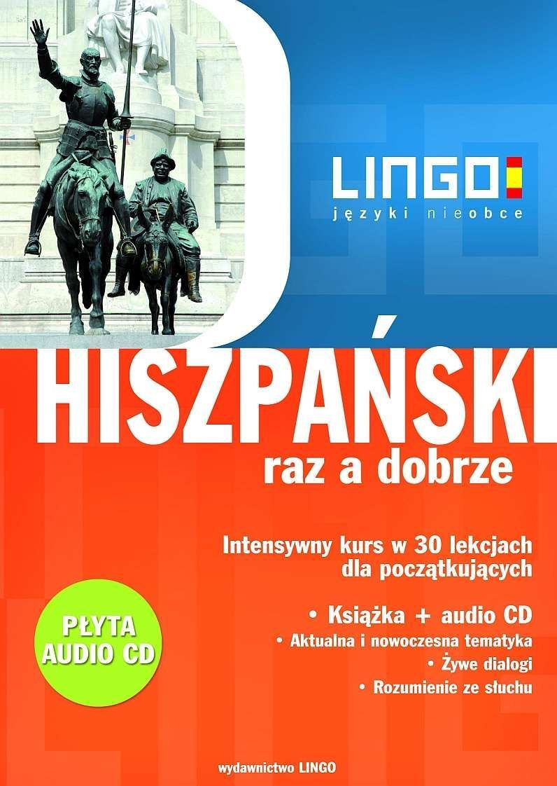 Hiszpański raz a dobrze +PDF - Audiobook (Książka audio MP3) do pobrania w całości w archiwum ZIP