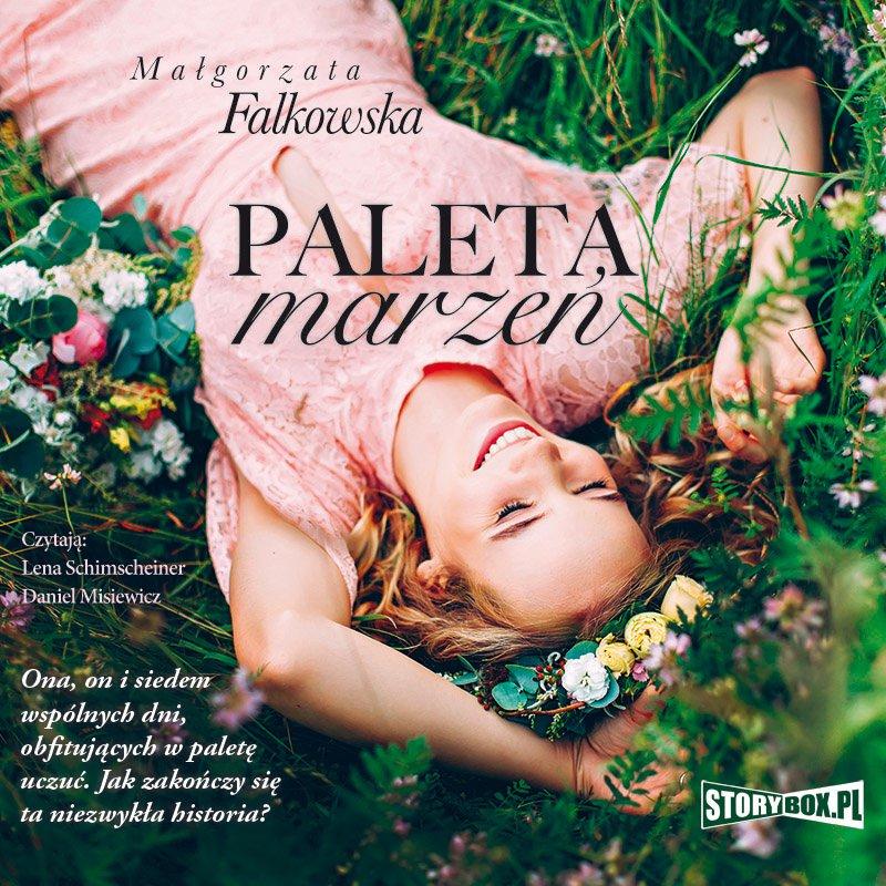 Paleta marzeń - Audiobook (Książka audio MP3) do pobrania w całości w archiwum ZIP