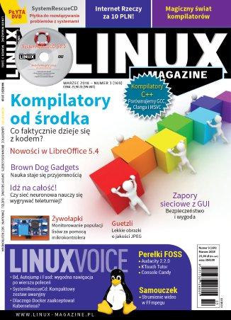 Linux Magazine 3/2018 (169) - Ebook (Książka PDF) do pobrania w formacie PDF