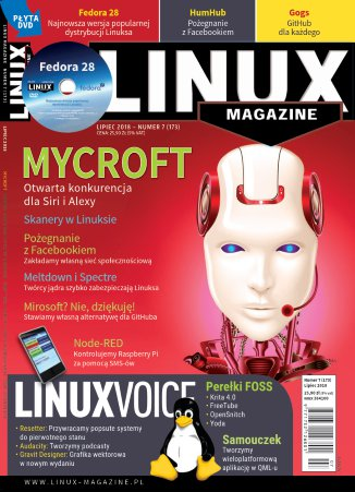 Linux Magazine 07/2018 (173) - Ebook (Książka PDF) do pobrania w formacie PDF