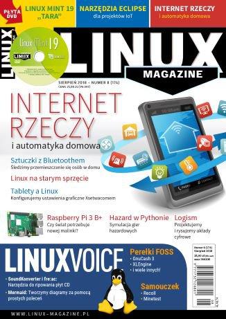 Linux Magazine 08/2018 (174) - Ebook (Książka PDF) do pobrania w formacie PDF
