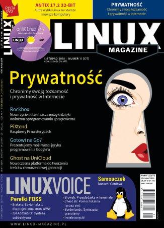 Linux Magazine 11/2018 (177) - Ebook (Książka PDF) do pobrania w formacie PDF