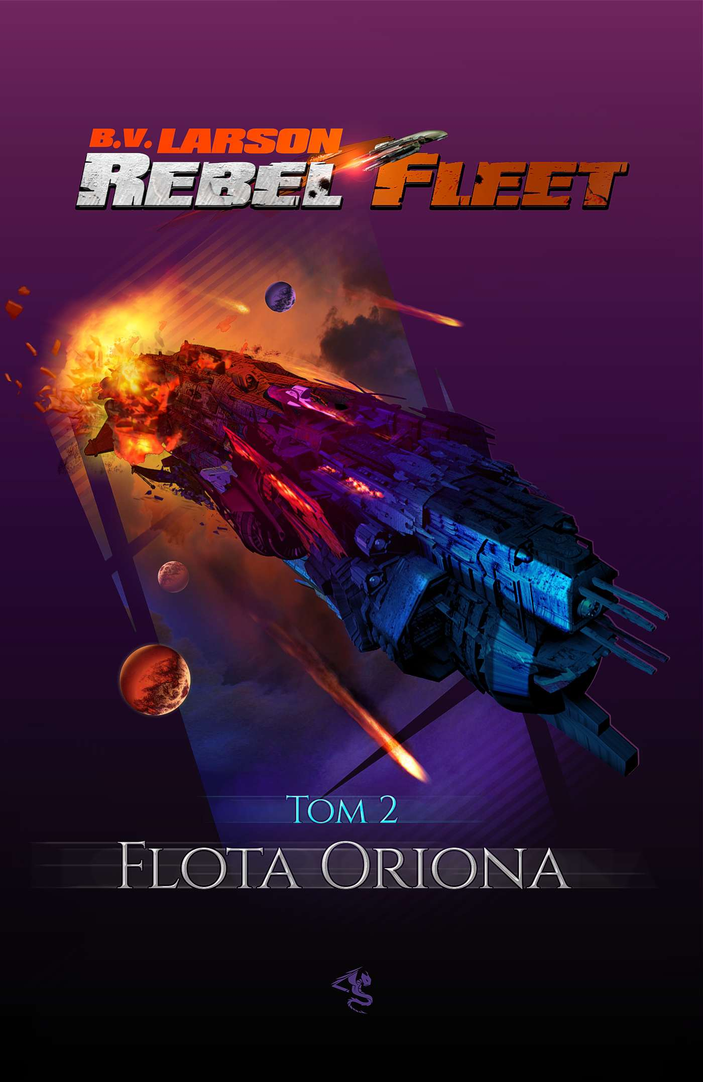 Rebel Fleet. Tom 2. Flota Oriona - Ebook (Książka na Kindle) do pobrania w formacie MOBI