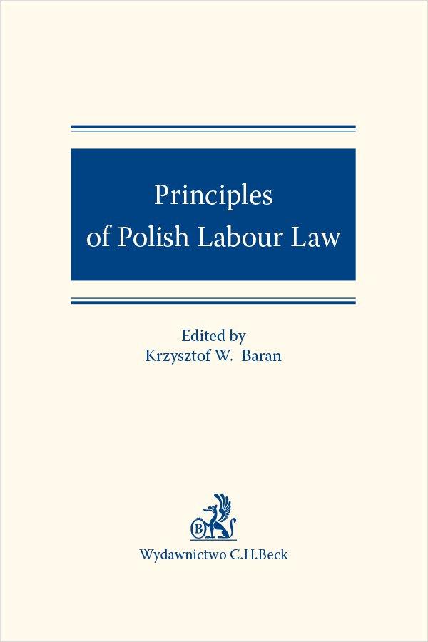 Principles of Polish Labour Law - Ebook (Książka EPUB) do pobrania w formacie EPUB