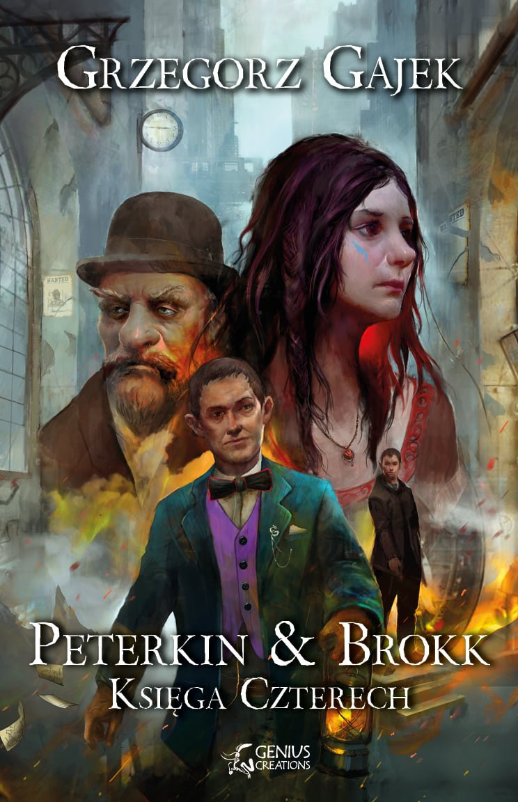 Peterkin & Brokk: Księga Czterech - Ebook (Książka na Kindle) do pobrania w formacie MOBI