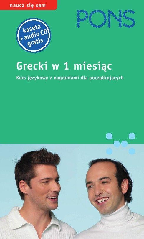 Grecki w 1 miesiąc - Audiobook (Książka audio MP3) do pobrania w całości w archiwum ZIP