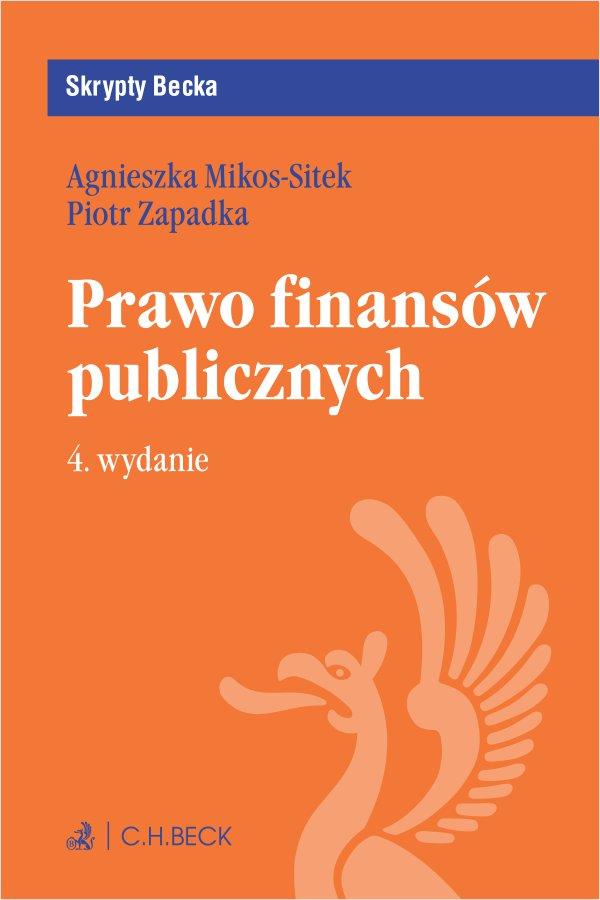 Prawo finansów publicznych. Wydanie 4 - Ebook (Książka EPUB) do pobrania w formacie EPUB