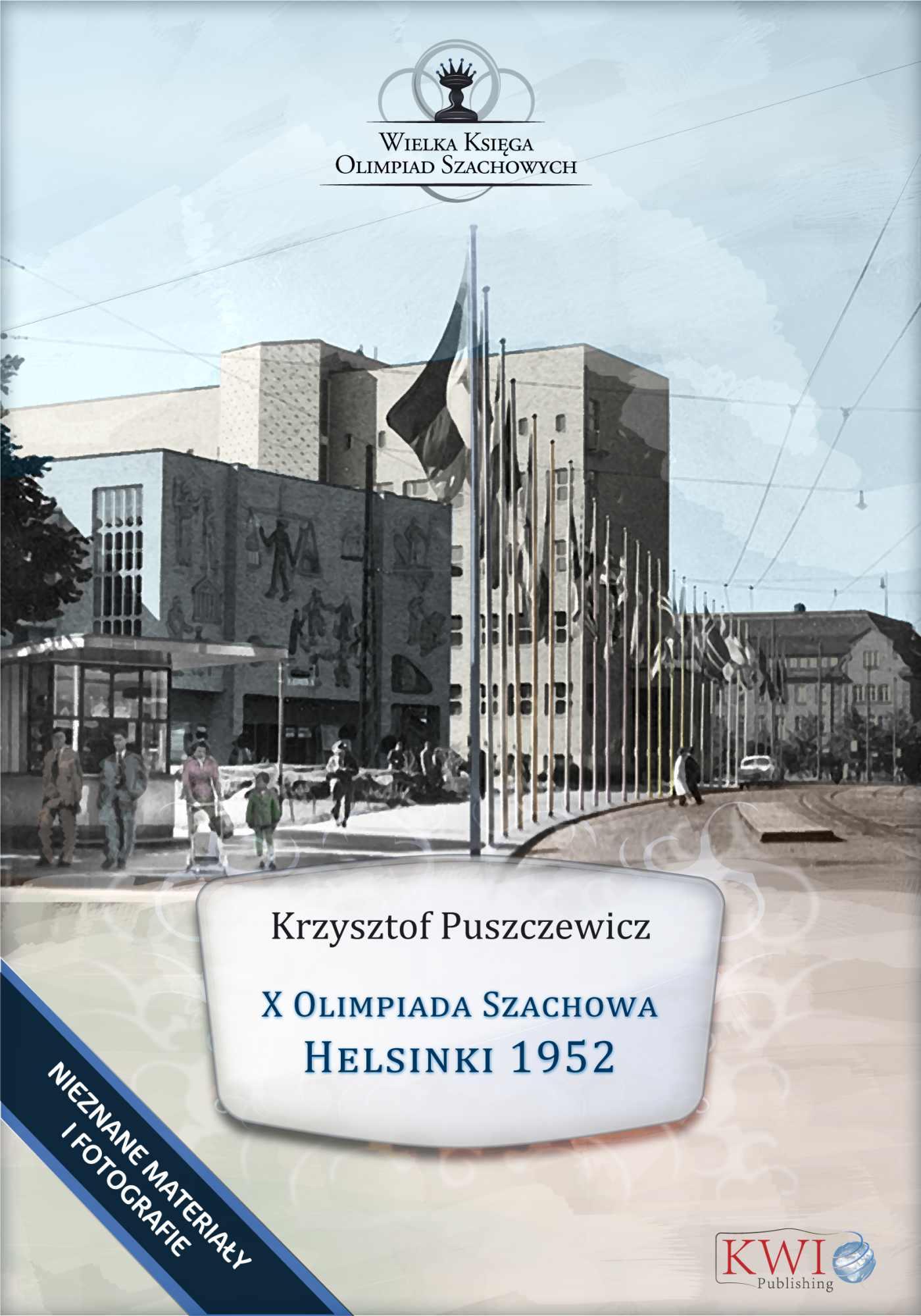 X Olimpiada Szachowa – Helsinki 1952 - Ebook (Książka na Kindle) do pobrania w formacie MOBI