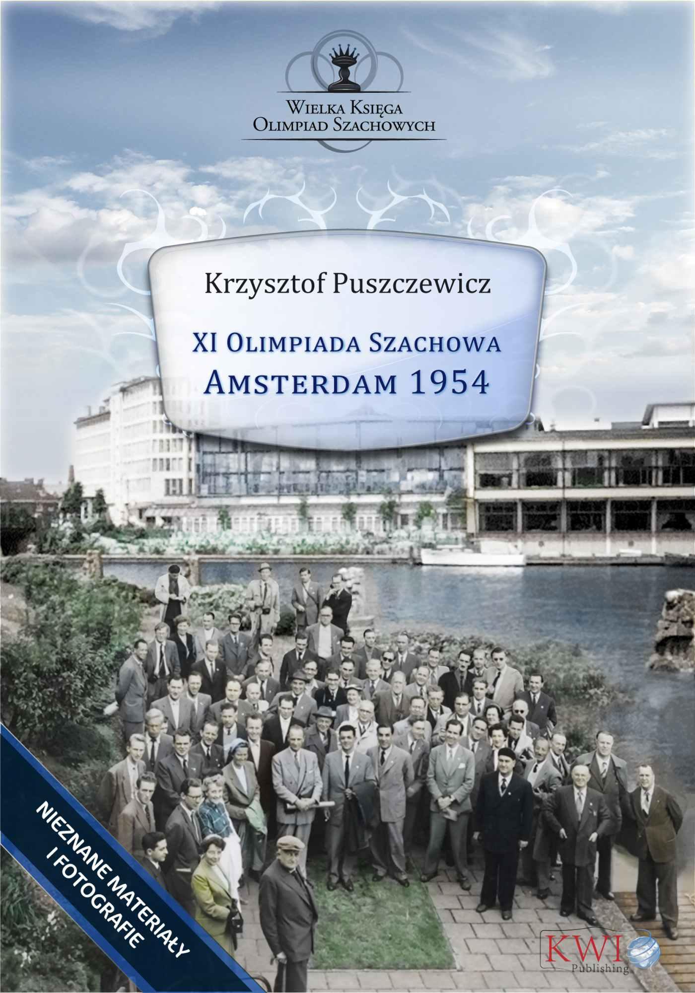 XI Olimpiada Szachowa – Amsterdam 1954 - Ebook (Książka na Kindle) do pobrania w formacie MOBI
