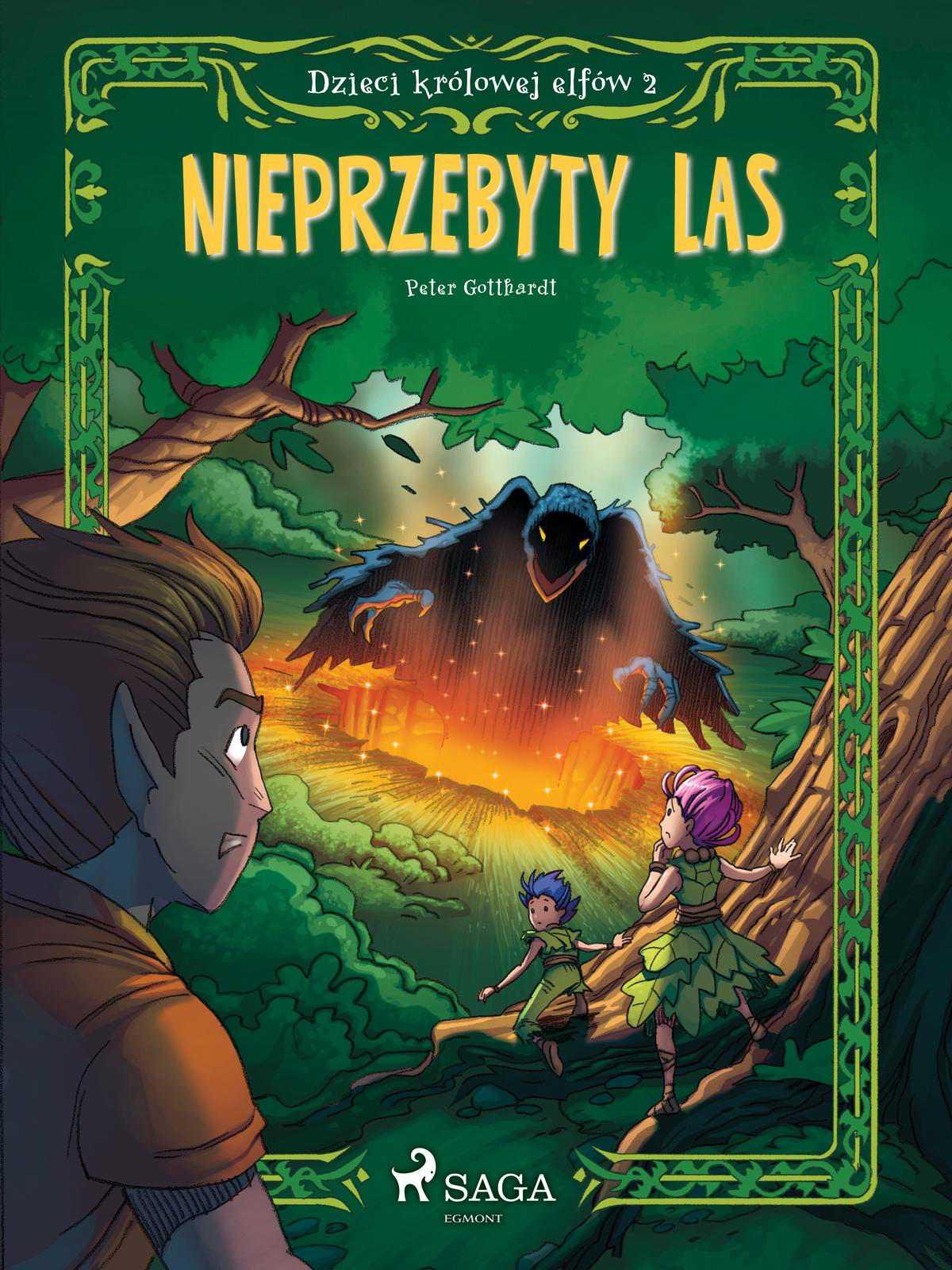 Dzieci królowej elfów 2 - Nieprzebyty las - Ebook (Książka na Kindle) do pobrania w formacie MOBI