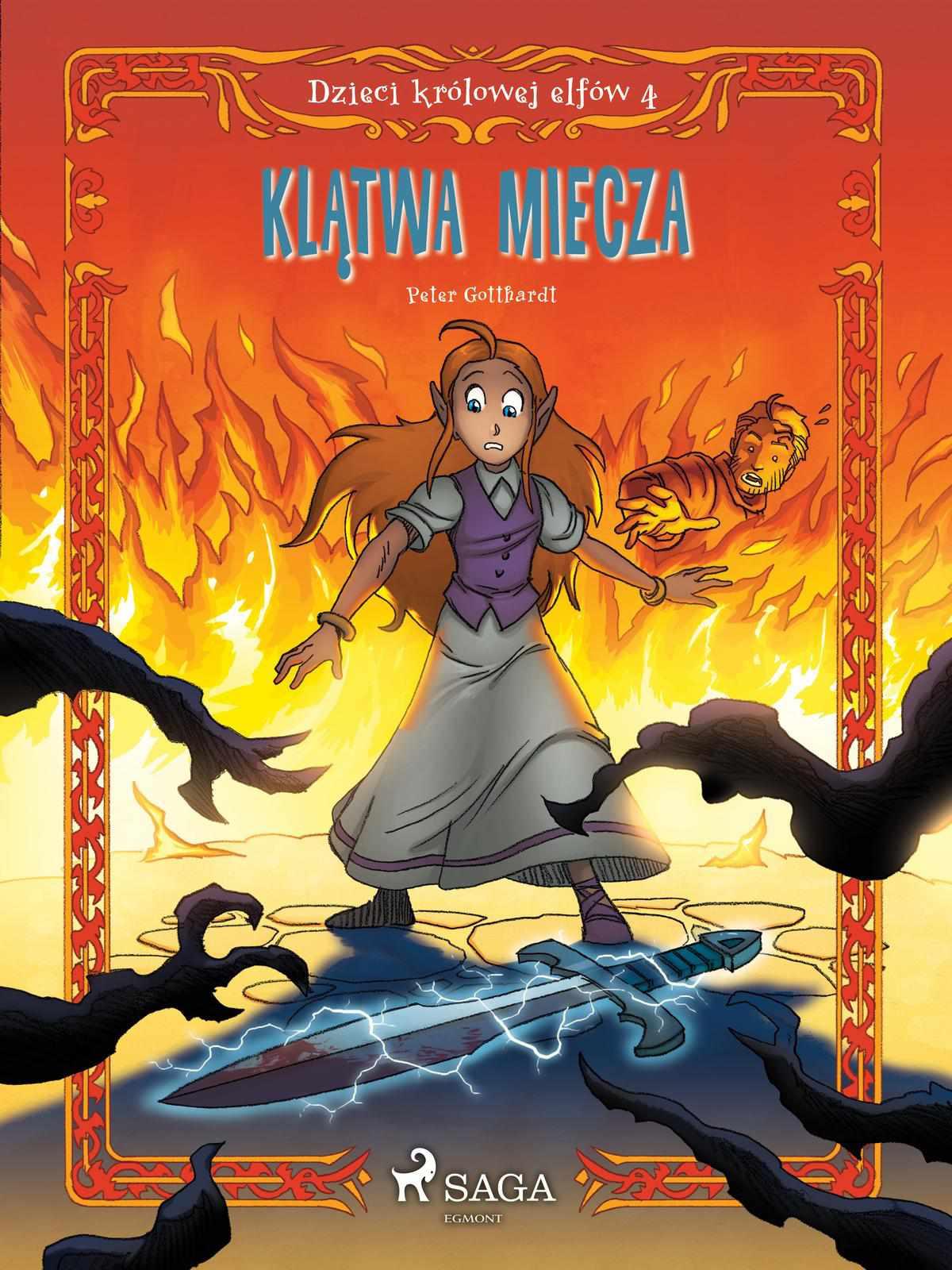 Dzieci królowej elfów 4 - Klątwa miecza - Ebook (Książka na Kindle) do pobrania w formacie MOBI
