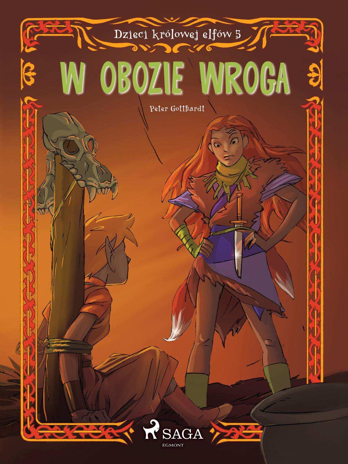Dzieci królowej elfów 5 - W obozie wroga - Ebook (Książka EPUB) do pobrania w formacie EPUB