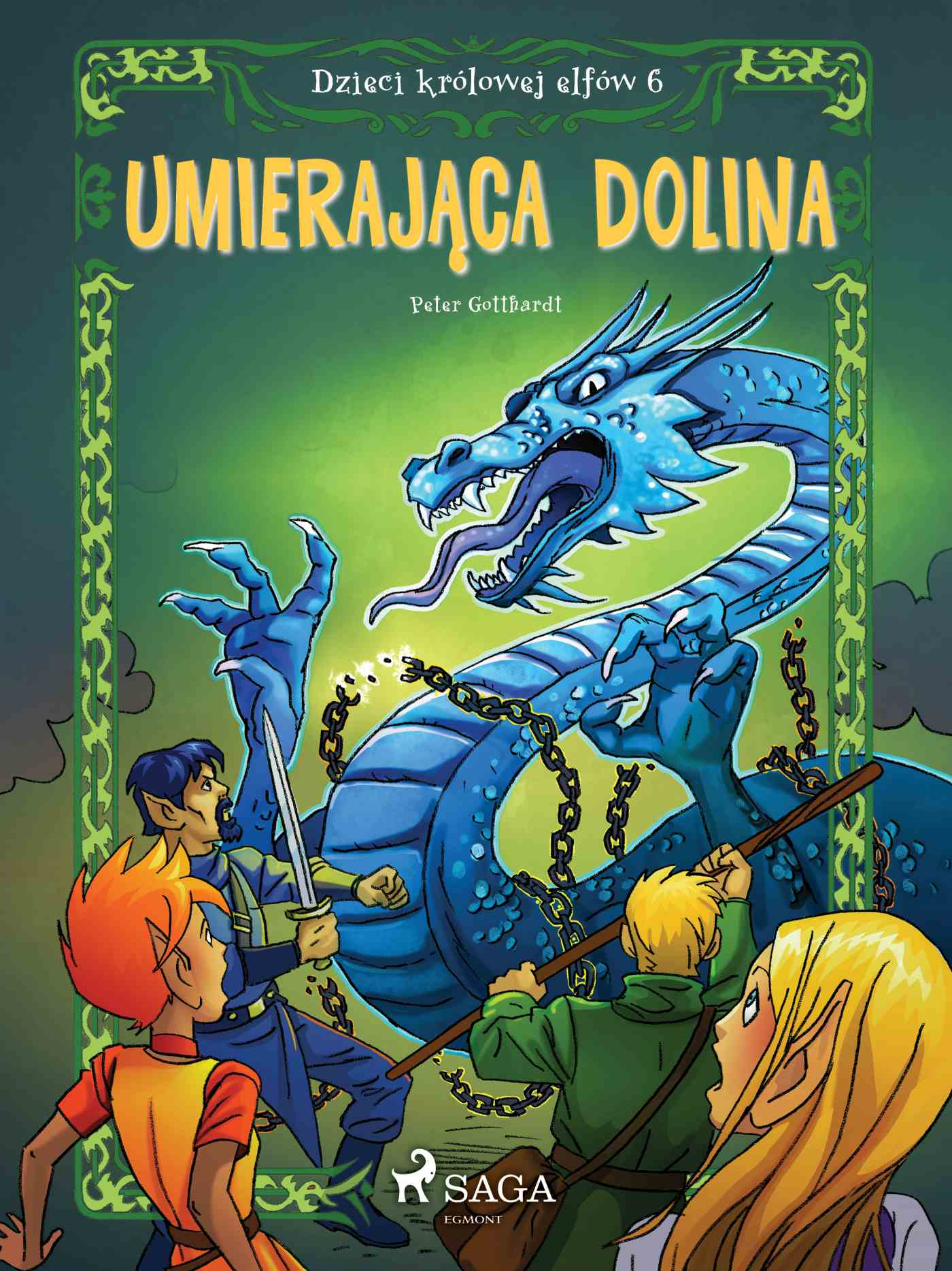 Dzieci królowej elfów 6 - Umierająca dolina - Ebook (Książka na Kindle) do pobrania w formacie MOBI