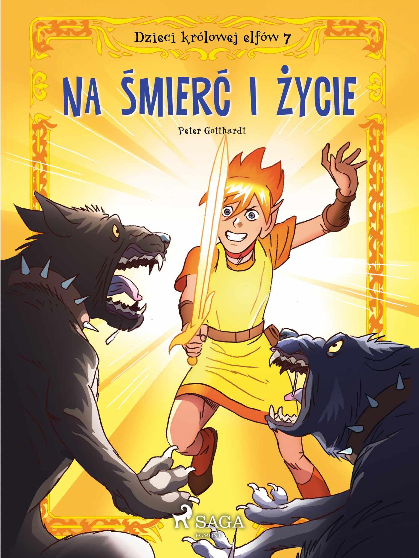 Dzieci królowej elfów 7 - Na śmierć i życie - Ebook (Książka EPUB) do pobrania w formacie EPUB
