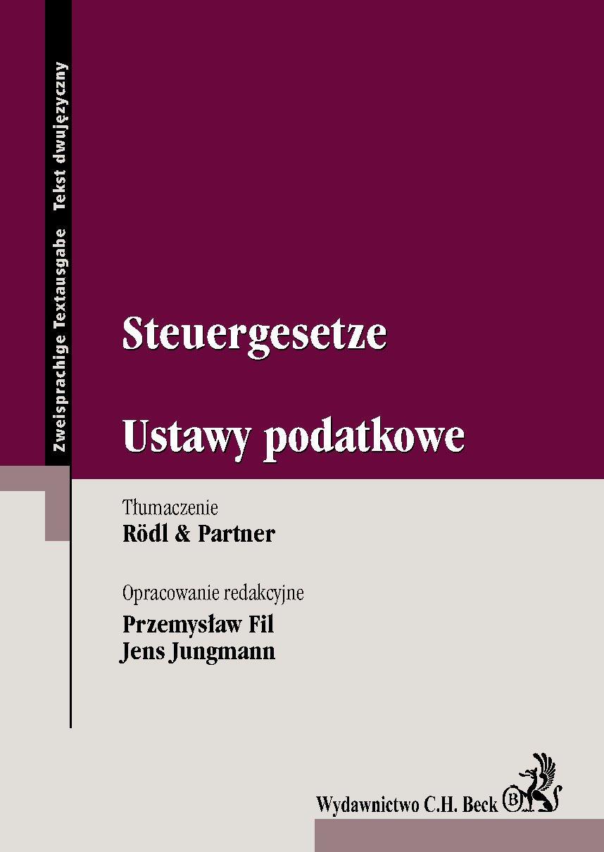 Steuergesetze. Ustawy podatkowe - Ebook (Książka PDF) do pobrania w formacie PDF