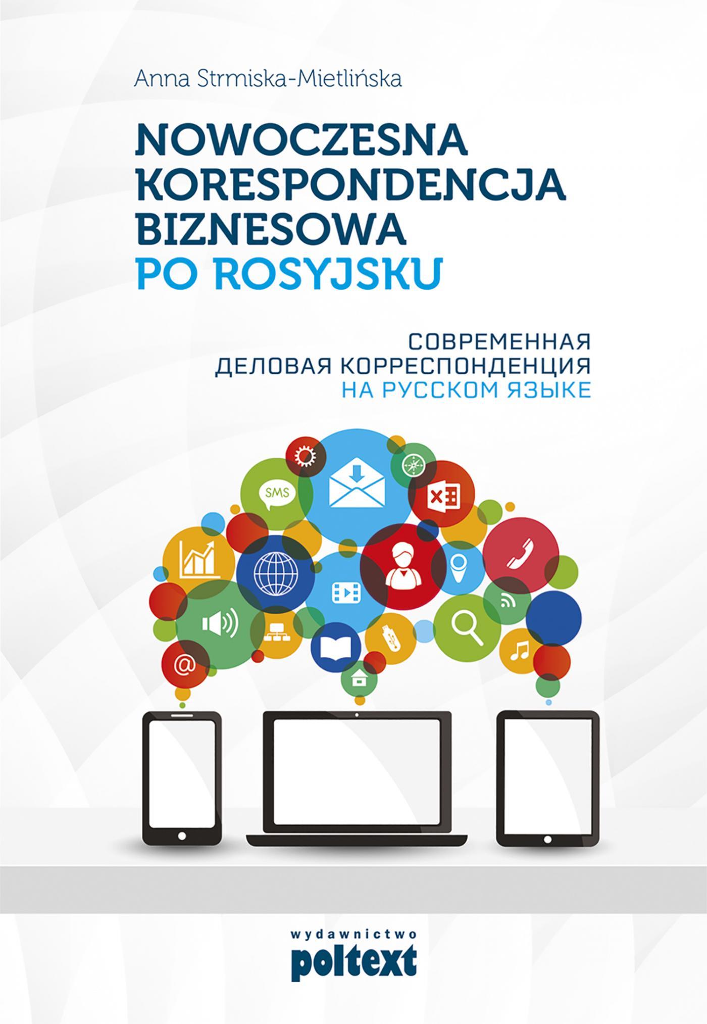 Nowoczesna korespondencja biznesowa po rosyjsku - Ebook (Książka EPUB) do pobrania w formacie EPUB
