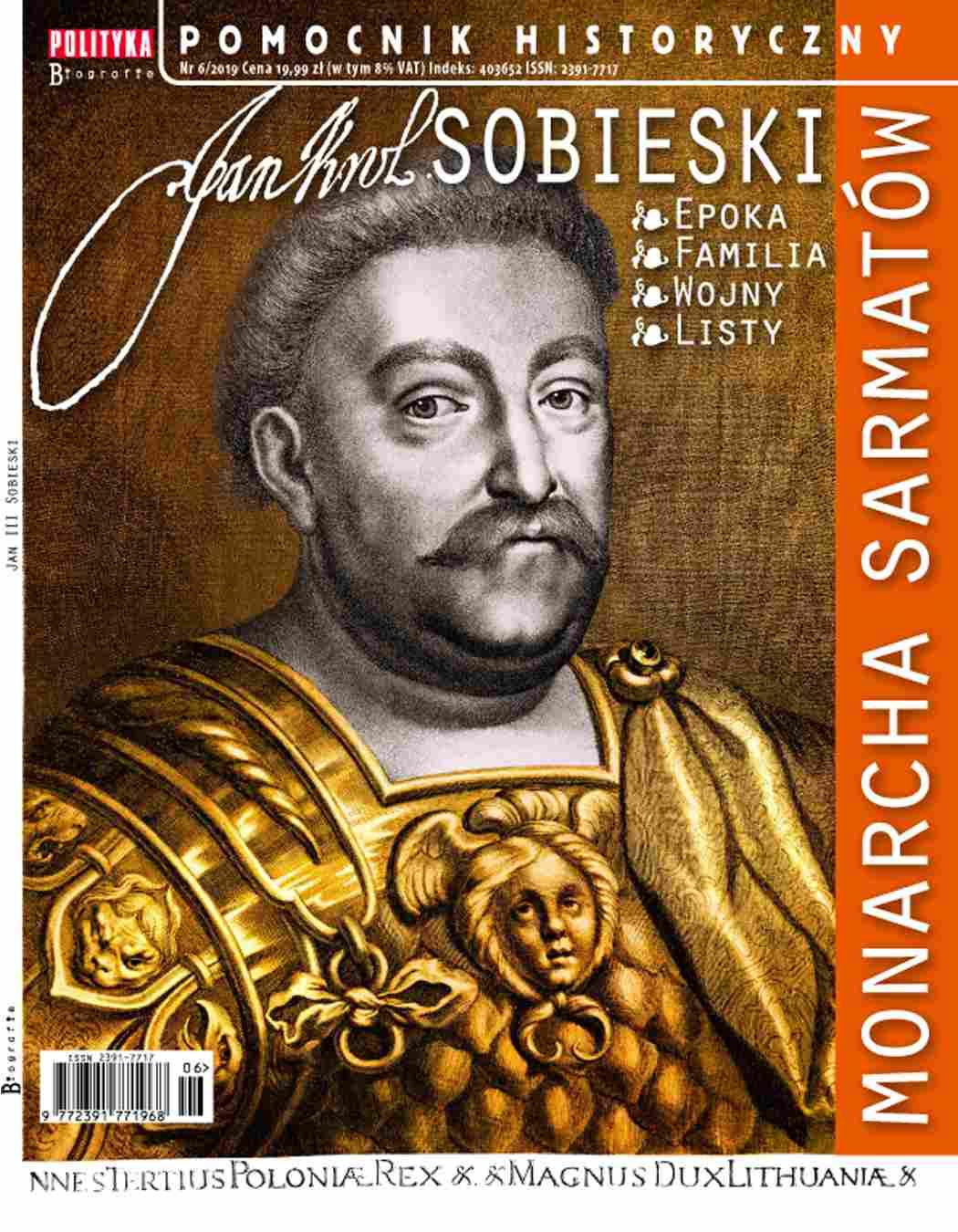 Pomocnik Historyczny. Jan III Sobieski - Ebook (Książka PDF) do pobrania w formacie PDF