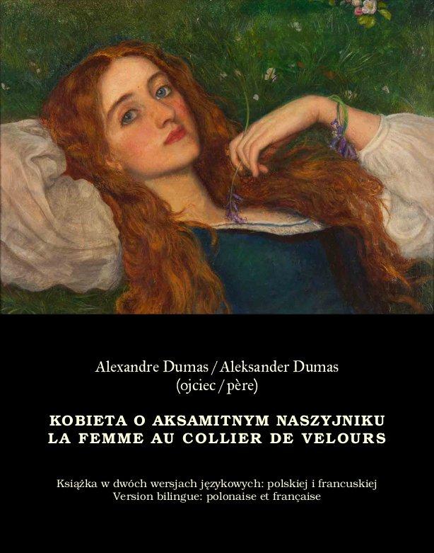 Kobieta o aksamitnym naszyjniku. La Femme au collier de velours