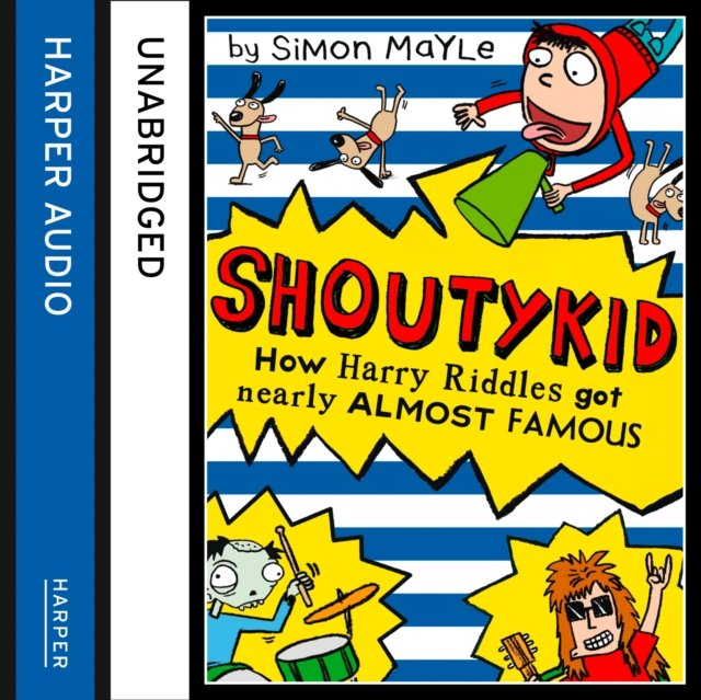 How Harry Riddles Got Nearly Almost Famous (Shoutykid, Book 3) - Audiobook (Książka audio MP3) do pobrania w całości w archiwum ZIP