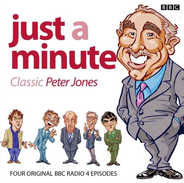 Just A Minute: Peter Jones Classics - Audiobook (Książka audio MP3) do pobrania w całości w archiwum ZIP