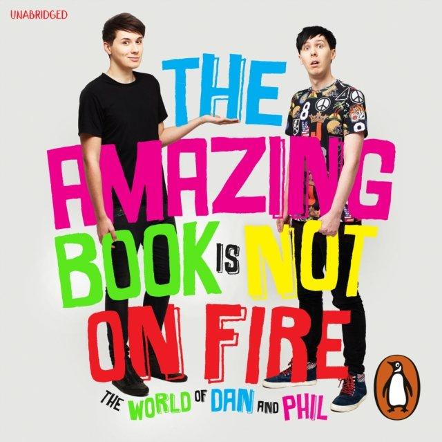 Amazing Book is Not on Fire - Audiobook (Książka audio MP3) do pobrania w całości w archiwum ZIP