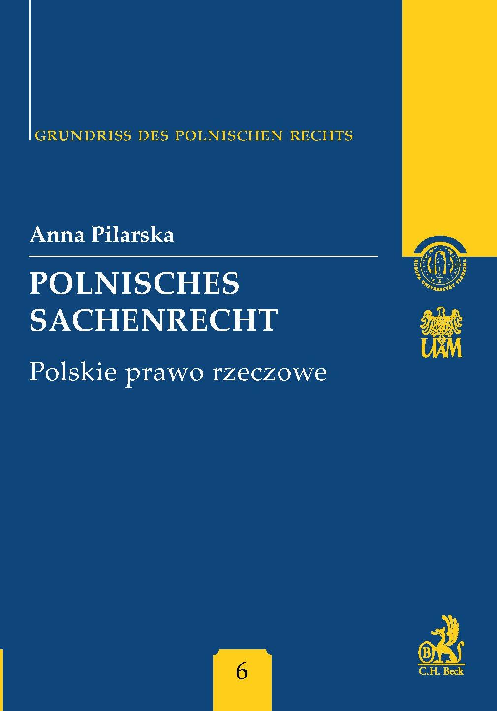 Polnisches Sachenrecht. Polskie prawo rzeczowe Band 6 - Ebook (Książka PDF) do pobrania w formacie PDF