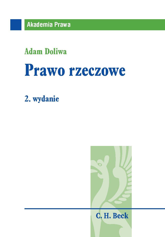 Prawo rzeczowe - Ebook (Książka PDF) do pobrania w formacie PDF