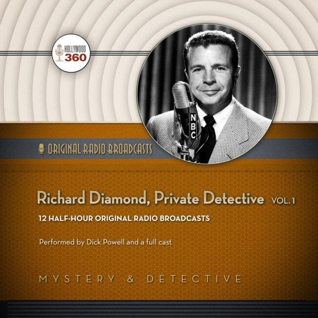 Richard Diamond, Private Detective, Vol. 1 - Audiobook (Książka audio MP3) do pobrania w całości w archiwum ZIP