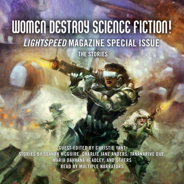 Women Destroy Science Fiction! - Audiobook (Książka audio MP3) do pobrania w całości w archiwum ZIP
