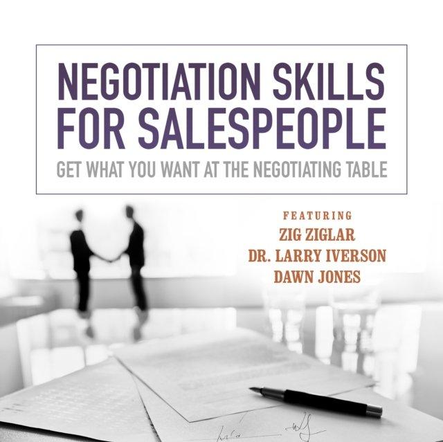Negotiation Skills for Salespeople - Audiobook (Książka audio MP3) do pobrania w całości w archiwum ZIP