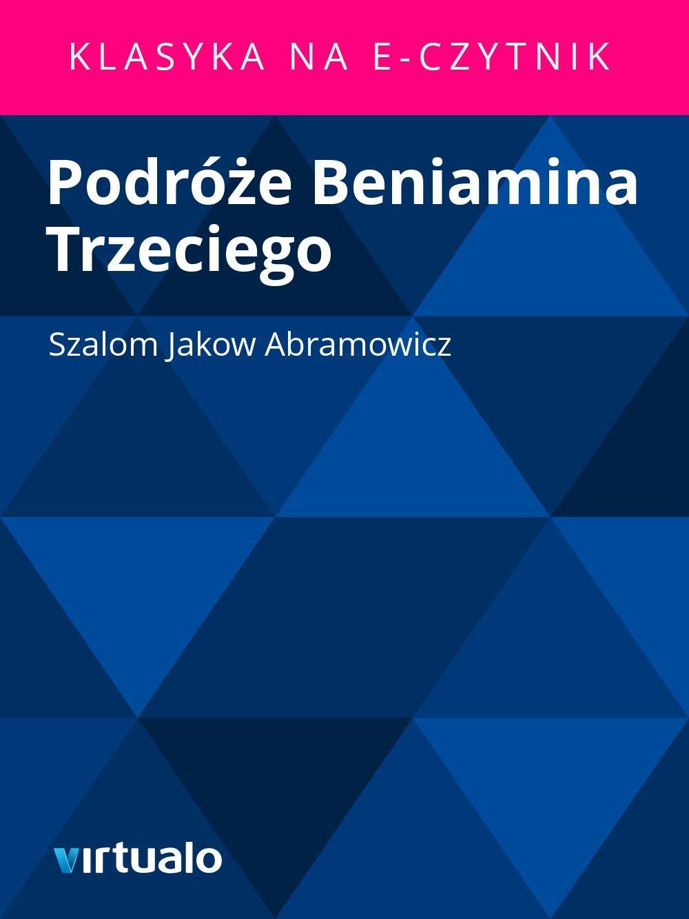 Podróże Beniamina Trzeciego - Ebook (Książka EPUB) do pobrania w formacie EPUB