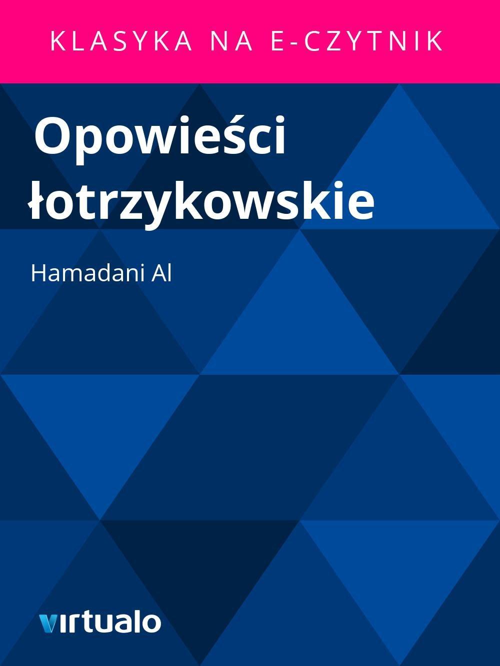 Opowieści łotrzykowskie - Ebook (Książka EPUB) do pobrania w formacie EPUB