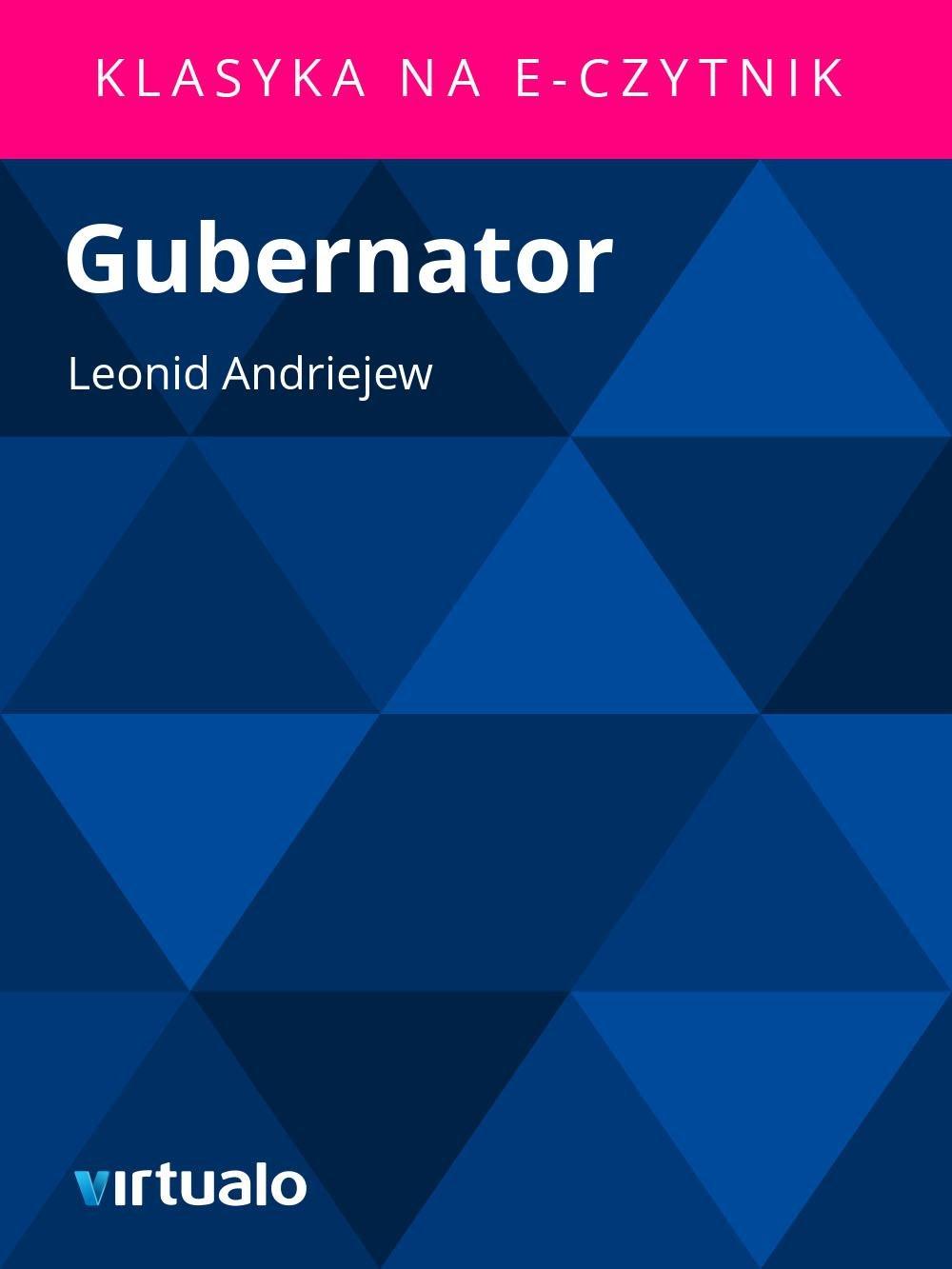 Gubernator - Ebook (Książka EPUB) do pobrania w formacie EPUB