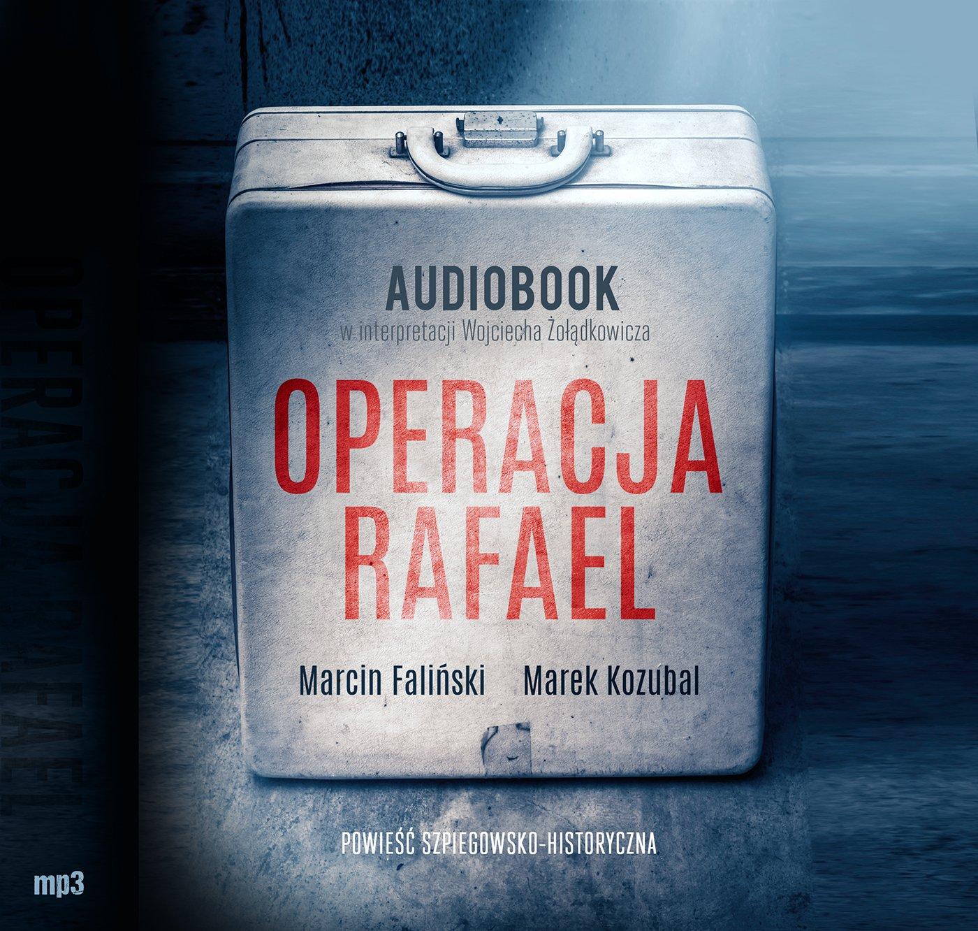 Operacja Rafael - Audiobook (Książka audio MP3) do pobrania w całości w archiwum ZIP