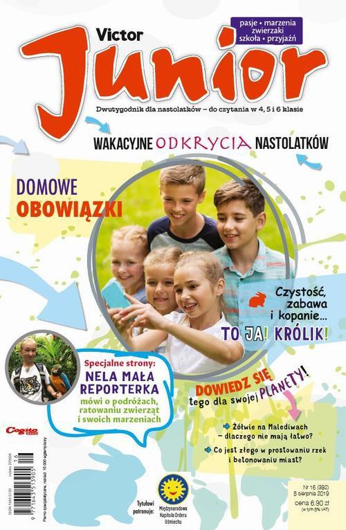 Victor Junior nr 16 (392) 8 sierpnia 2019 - Ebook (Książka PDF) do pobrania w formacie PDF