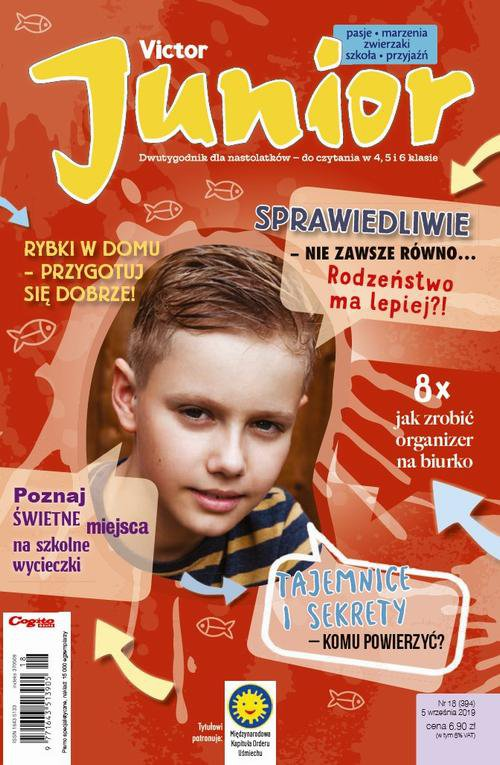 Victor Junior nr 18 (394) 5 września 2019 - Ebook (Książka PDF) do pobrania w formacie PDF