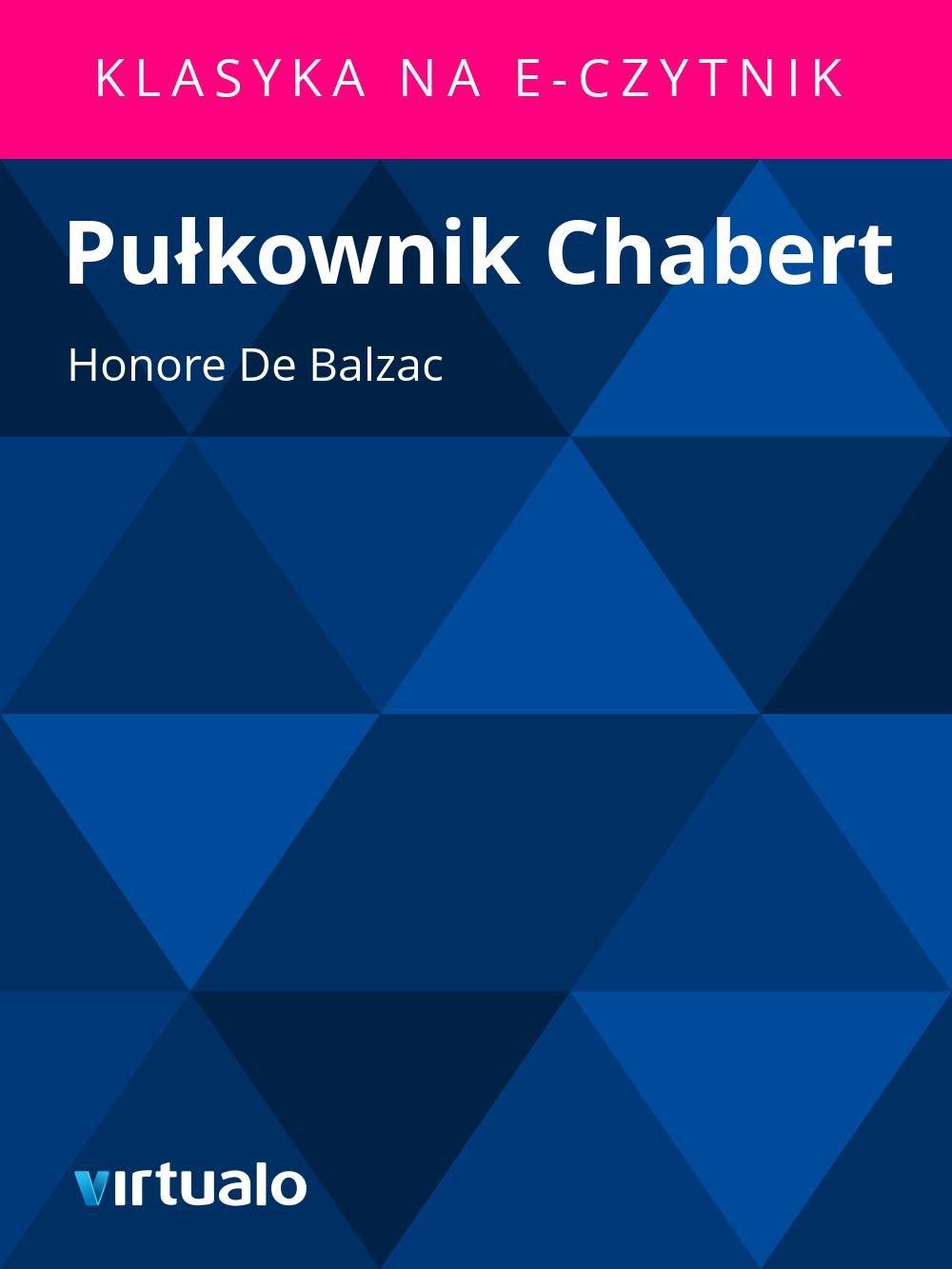 Pułkownik Chabert - Ebook (Książka EPUB) do pobrania w formacie EPUB