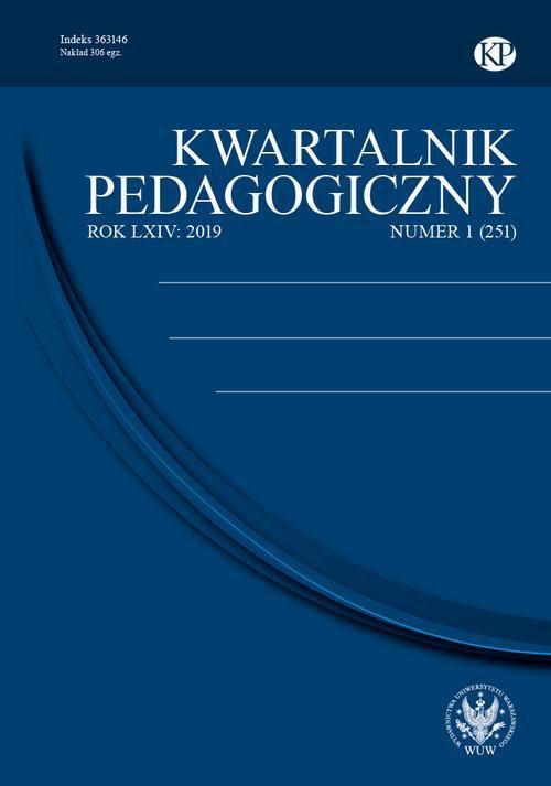 Kwartalnik Pedagogiczny 2019/1 (251) - Ebook (Książka PDF) do pobrania w formacie PDF