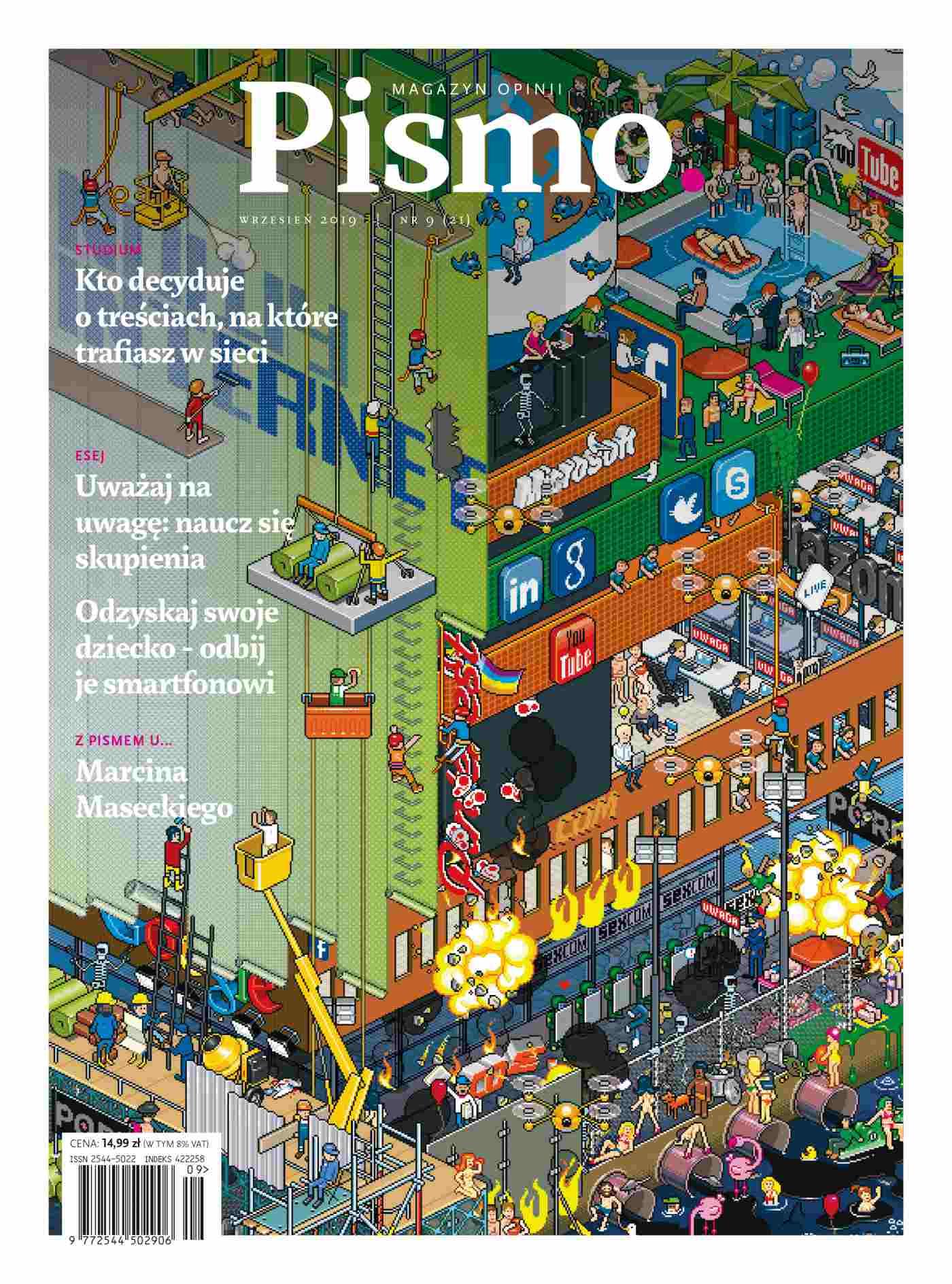 Pismo. Magazyn Opinii 09/2019 - Ebook (Książka EPUB) do pobrania w formacie EPUB