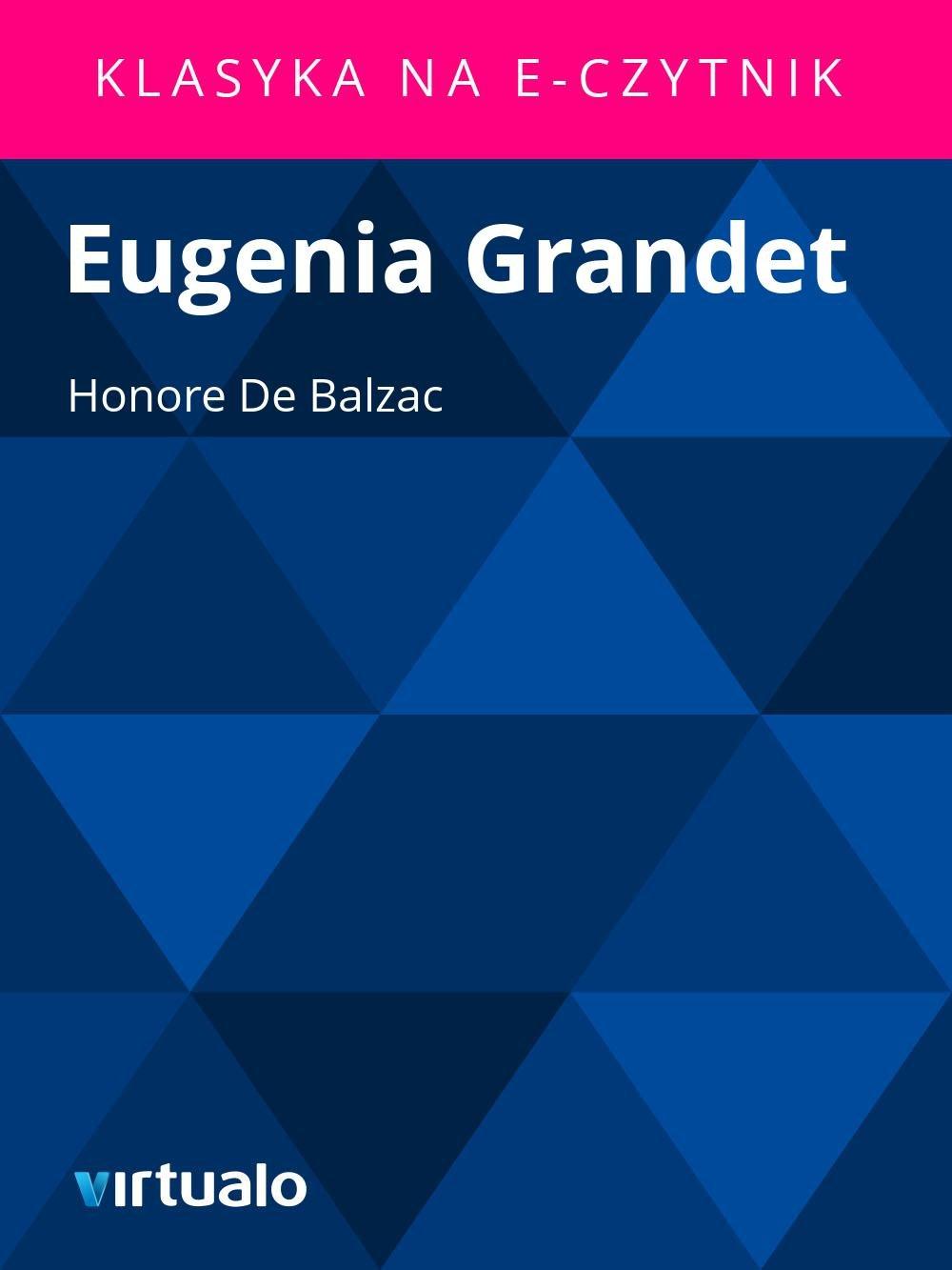 Eugenia Grandet - Ebook (Książka EPUB) do pobrania w formacie EPUB