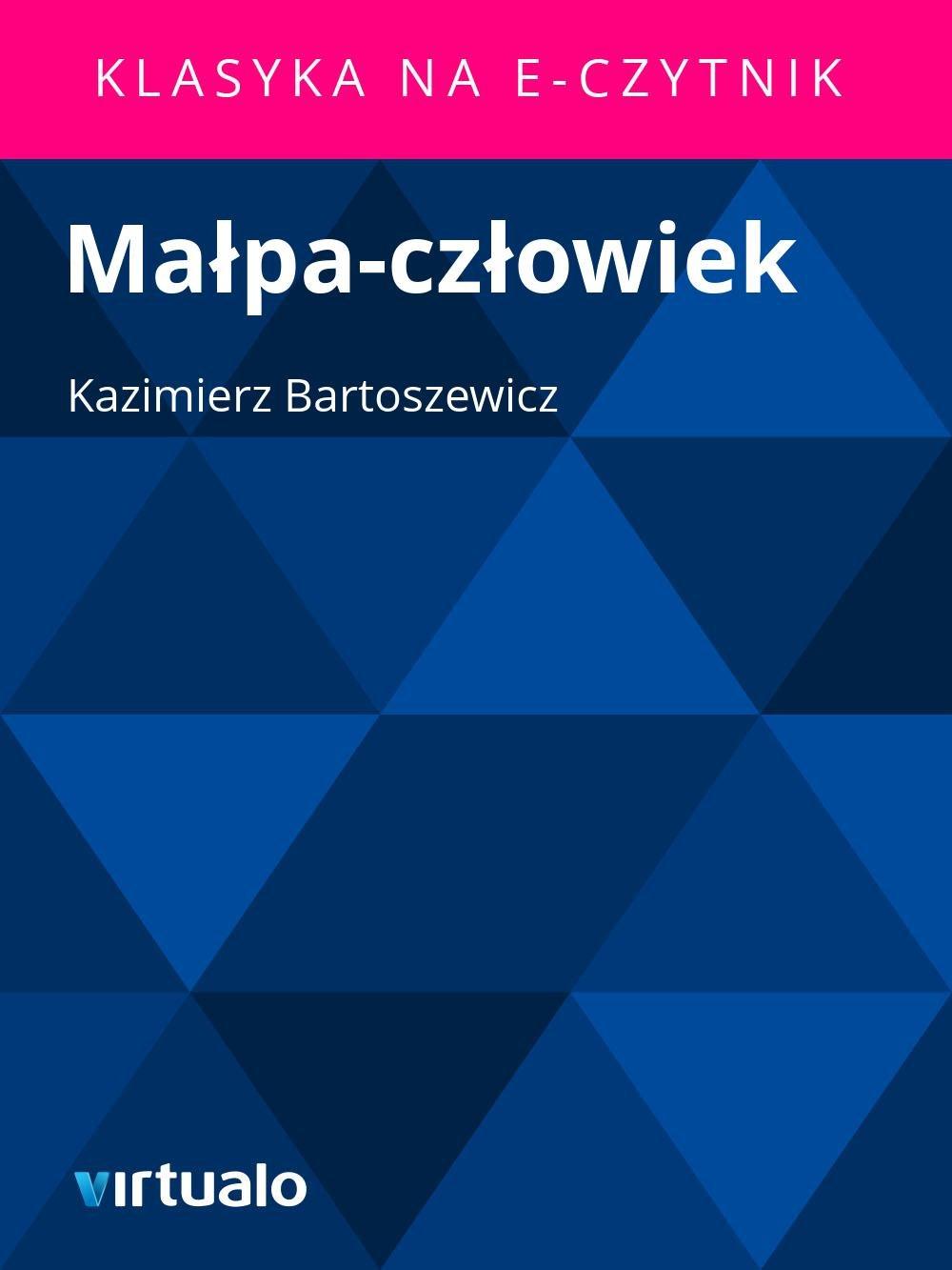 Małpa-człowiek - Ebook (Książka EPUB) do pobrania w formacie EPUB