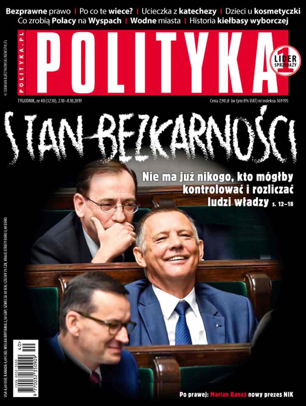 Polityka nr 40/2019 - Ebook (Książka PDF) do pobrania w formacie PDF