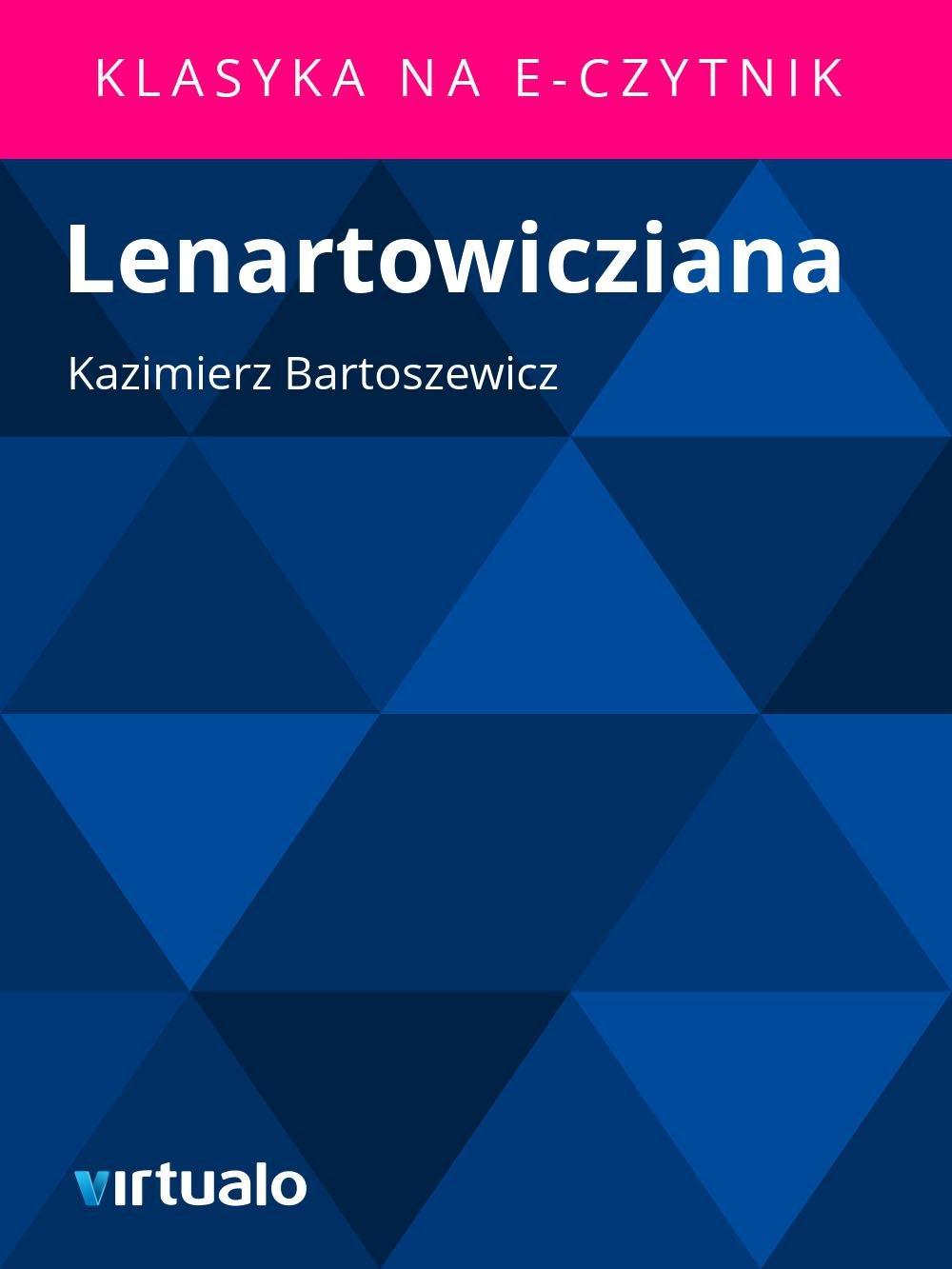 Lenartowicziana - Ebook (Książka EPUB) do pobrania w formacie EPUB