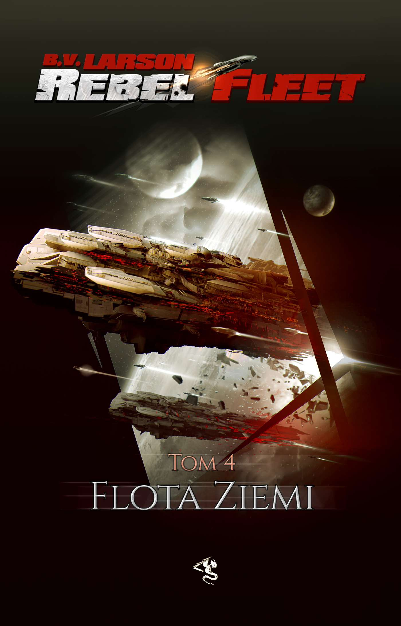 Rebel Fleet. Tom 4. Flota Ziemi - Ebook (Książka na Kindle) do pobrania w formacie MOBI