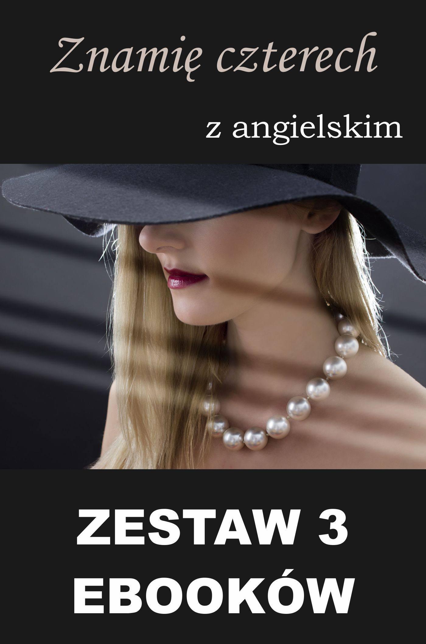 3 ebooki: Znamię czterech z angielskim, Groźny cień, Nauka angielskiego z książką dwujęzyczną - Ebook (Książka PDF) do pobrania w formacie PDF