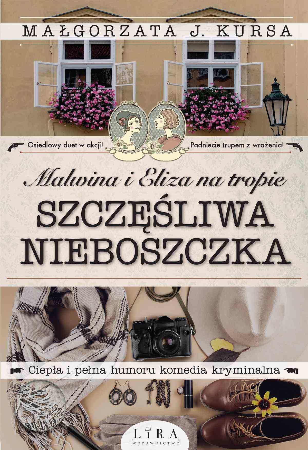 Malwina i Eliza na tropie. Szczęśliwa nieboszczka - Ebook (Książka na Kindle) do pobrania w formacie MOBI