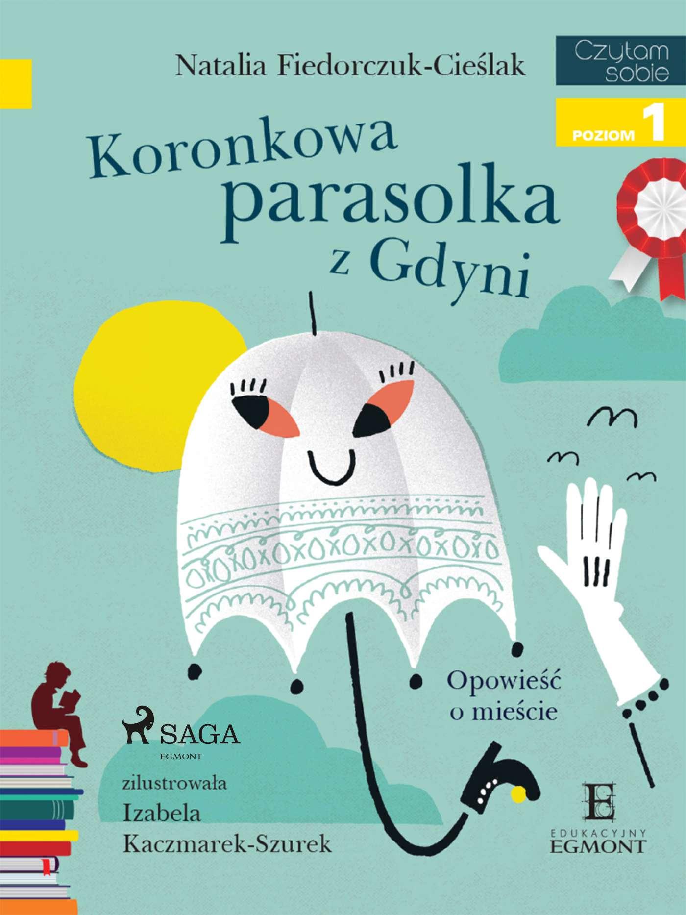 Koronkowa parasolka z Gdyni - Ebook (Książka na Kindle) do pobrania w formacie MOBI
