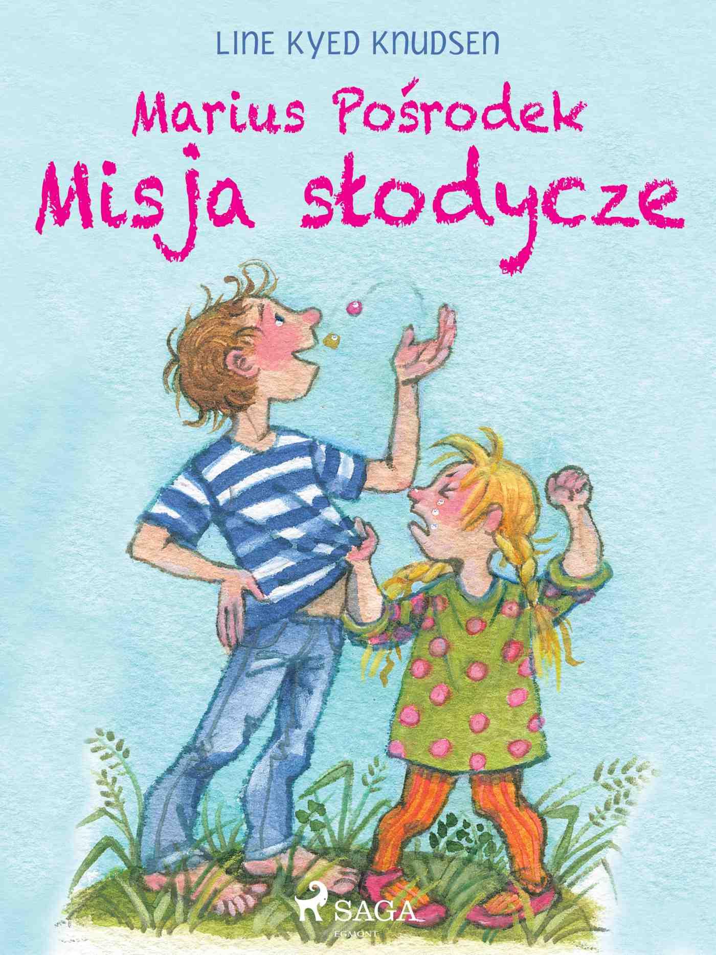 Marius Pośrodek - Misja słodycze - Ebook (Książka na Kindle) do pobrania w formacie MOBI
