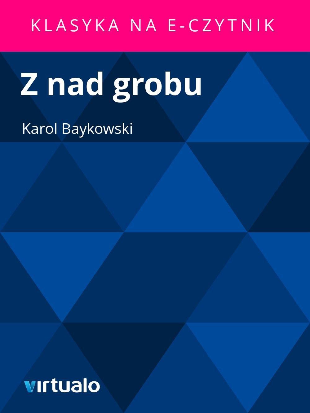 Z nad grobu - Ebook (Książka EPUB) do pobrania w formacie EPUB